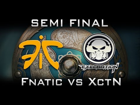 Fnatic vs Execration Semi Final TI7 The International 2017 SEA Highlights Dota 2