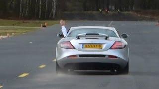 Mercedes-Benz SLR McLaren Drag Racing vs Ferrari 599 GTB, Porsche 911 Turbo & More!
