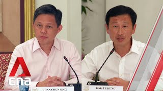 Download Chan Chun Sing on whether he is next in line to be Singapore's prime minister