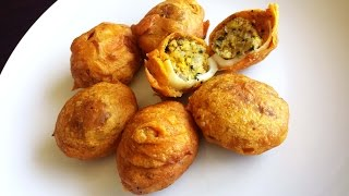 Egg Masala Bonda Indian StarterSnack Recipe