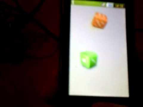 Игры на Samsung GTS 5230(Кости)