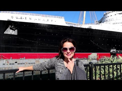 #1174 The Great QUEEN MARY Proof Of Haunted Ship - Jordan The Lion Daily Travel Vlog (10/24/19)