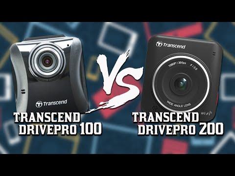 Transcend DrivePro 100 Vs DrivePro 200 Dash cams