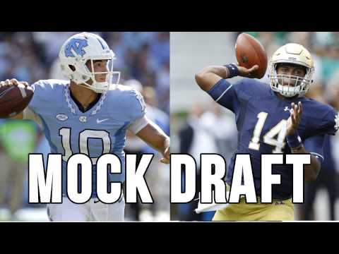 2017 NFL Mock Draft 3.0 - Pre-Senior Bowl Mock Draft