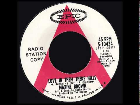 Maxine Brown - Love In Them There Hills - Epic - 1969