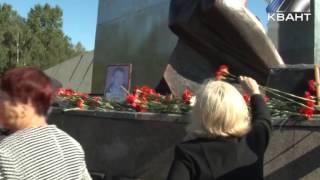 Возложение цветов к мемориалу шахтерской славы