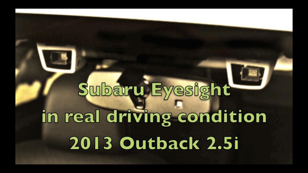 subaru eyesight system in real driving condition viyoutube. Black Bedroom Furniture Sets. Home Design Ideas