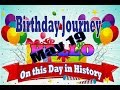 Birthday Journey May 19 New