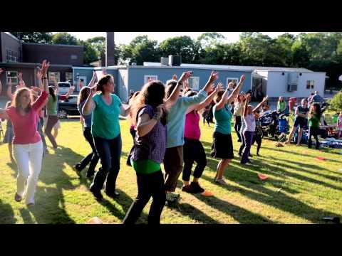 East Gloucester Elementary School Flash Mob