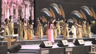 """Naga singers sings """"Jai ho"""""""