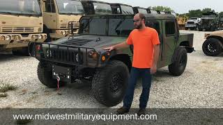 Roger's Custom M998 Am General Humvee/ Hmmwv With A/C Built By Midwest Military Equipment