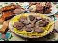 Иностранцы впервые пробуют казахскую еду. Курт их шокировал.