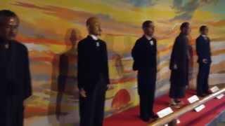 山口県萩市の松陰神社内にある吉田松陰歴史館です。内部は吉田松陰の生...