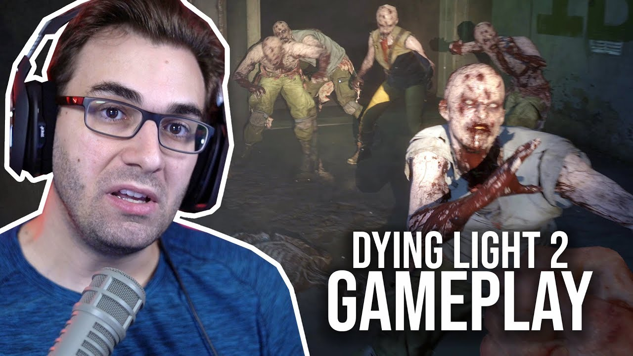 Sobrevivência em Apocalipse Zumbi + Parkour!? | GAMEPLAY de DYING LIGHT 2 thumbnail