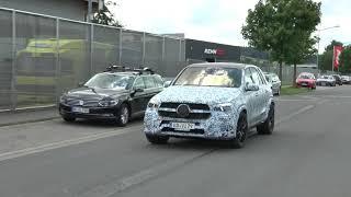 Erlkönigvideo: Mercedes-Benz GLE 2019 // Mercedes-Fans.de