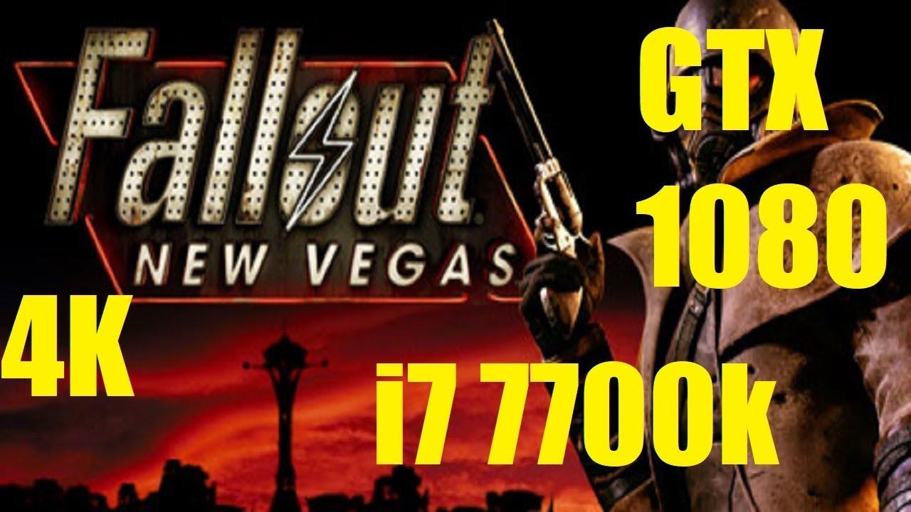 Fallout: New Vegas - 4K Max Settings - GTX 1080 - i7 7700k 4 2GHz