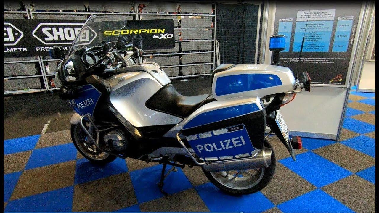 Bmw R 1200 Rt German Police Motorcycle Bike Polizei Motorrad Walkaround