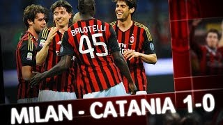 Video Gol Pertandingan AC Milan vs Catania