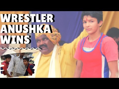 Women Wrestler : Anushka Pandit From UP Wins A Great Match