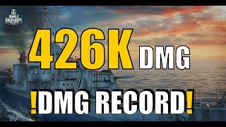 RECORD || 426K DAMAGE || GEARING -  World of Warships