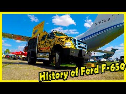 History Of Ford F-650. Biggest American Trucks Ford F-650.