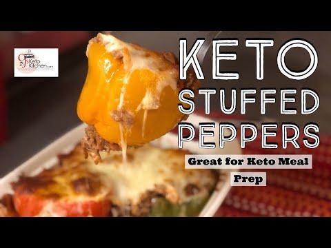 keto-stuffed-peppers-#keto-#ketodiet-#mealprep-#weightloss