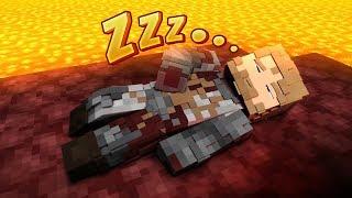 Minecraft, ale tak się zanudziłem, że stworzyłem Megalovanię  Volcano Block