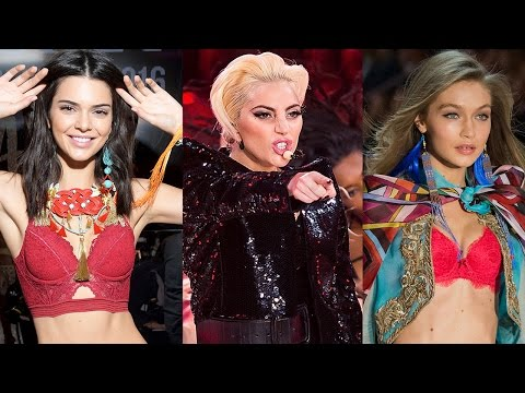 10 HOTTEST Moments From The 2016 Victorias Secret Fashion Show