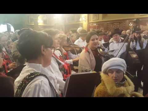 Msza Święta w Łagiewnikach podczas przyjęcia relikwii Św. Faustyny  -  1