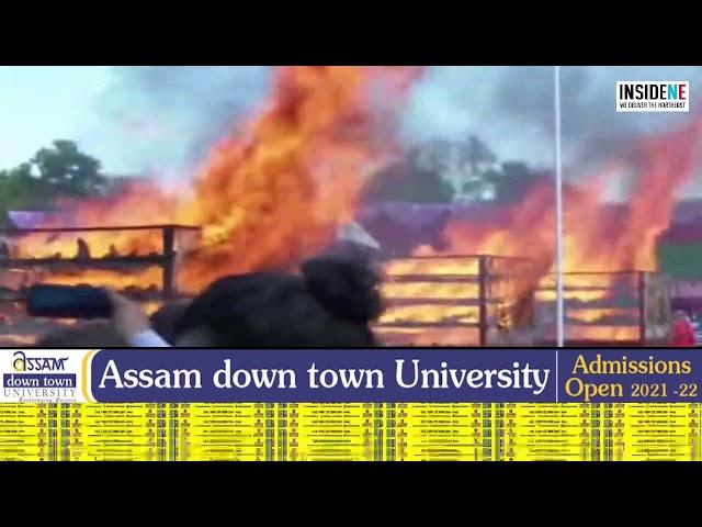 Assam Govt burning  2500 confiscated Rhino horns publically to mark World Rhino Day