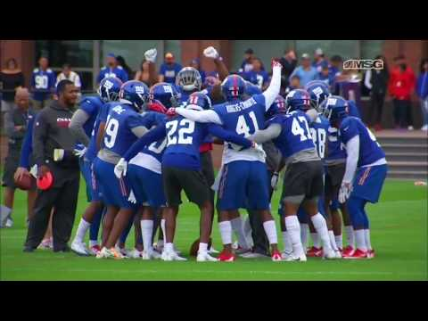 New York Giants Training Camp Highlights | MSG Networks