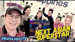 Filipinos Crazy Over Anneth 's Masterpiece   Indonesian Idol Junior Halloween Reaksi   Nolo Lopez TV