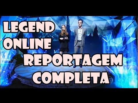 Legend Online - Reportagem Completa - Fantastico - REDE GLOBO