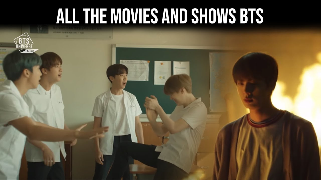 BTS (방탄소년단) All the movies and shows BTS, have appeared in over the years - Bangtan BOMB
