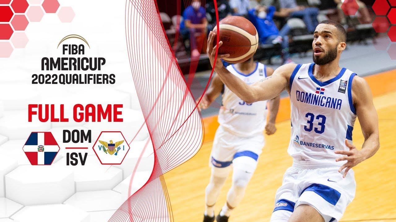 Dominican Republic v US Virgin Islands | Full Game - FIBA AmeriCup 2022