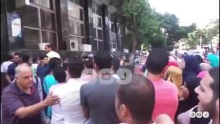 رصد   طلاب التمريض يهتفون أمام وزارة التعليم العالى: عايزين نتعلم