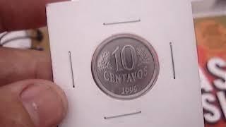 VOCE TEM ESTA MOEDA? 10 CENTAVOS 1995? A MAIS VALIOSA E DIFICIL VEJA