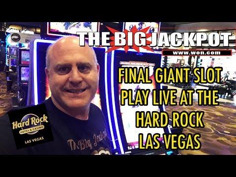 🔴Final Giant Slot Play Live Hard Rock Las Vegas🎰 | The Big Jackpot