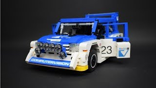 Lego Technic RC MG Metro 6R4