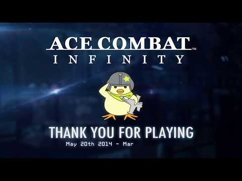 ACE COMBAT INFINITY - 'Thank You' Trailer | PS3