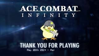 "ACE COMBAT INFINITY - ""Thank You"" Trailer 