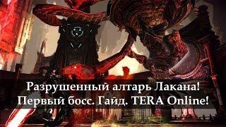 Разрушенный Алтарь Лакана. Первый босс. TERA Online