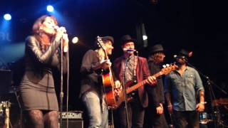 Katey Sagal and the Forest Rangers - The Weight (LA)