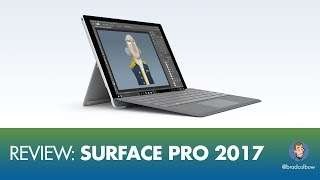 Surface Pro 2017 Review (An Illustrator
