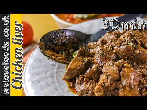Best Chicken Liver Recipe (30 Min)