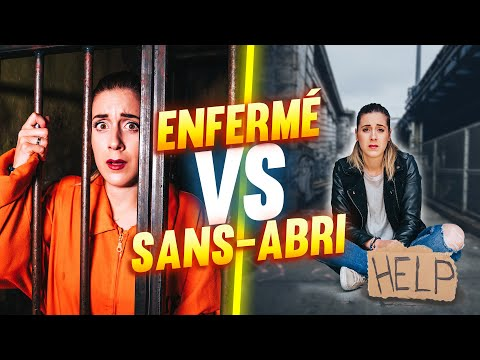 24H IN A PRISON  VS 24H AS A HOMELESS   DENYZEE
