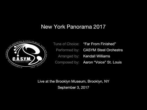 "CASYM Steel Orchestra ""Far From Finished"" (NY Panorama 2017)"