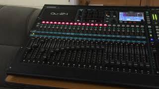 Allen & Heath QU24 Digital Mixer DAW Control Testing_Produced By Phyo Ye