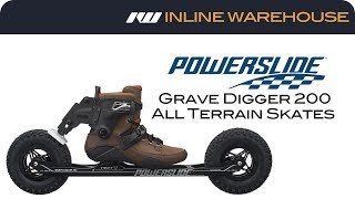 2017 Powerslide Grave Digger 200 All Terrain Skates Review