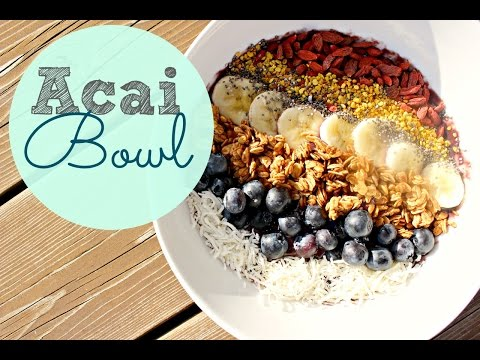 Download Healthy Breakfast Ideas | Acai Bowl Recipe Images